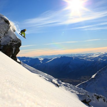 Coronet Peak queenstown skiing school groups